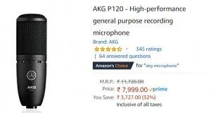 AKG- USB Microphone